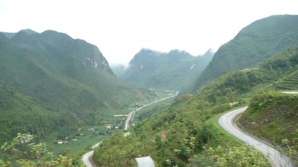 difficultes pour acceder dans le secteur le plus beau du Vietnam