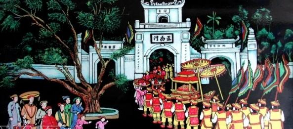 laque de Cat Dang - Vietnam