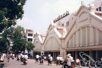 marche de Dong Xuan