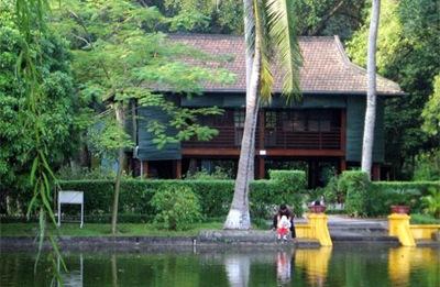 Maison sur pilotis de Ho Chi Minh