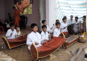 la musique des Khmers