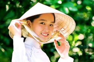 Chapeau conique du Vietnam