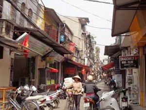 Vieux quartier de Hanoi