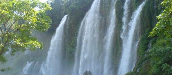 chute d'eau de Ban Gioc