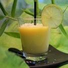 Nectar de mangue au lait de coco et citron vert